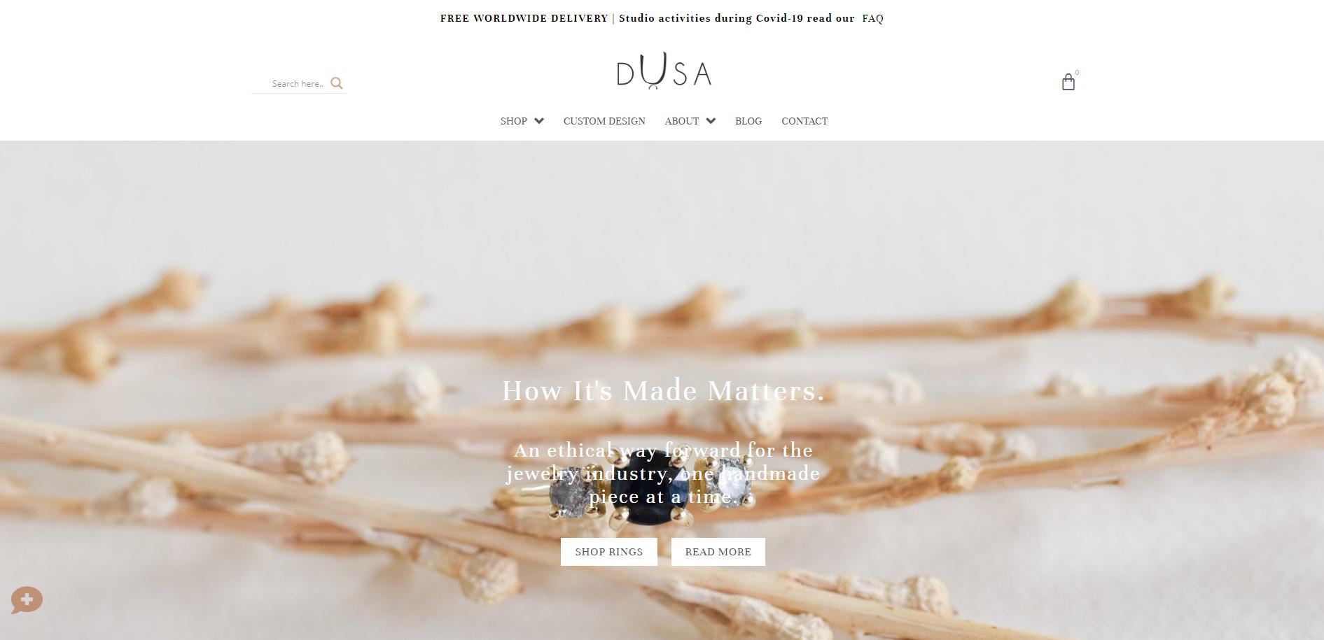 Dusha - תכשיטים